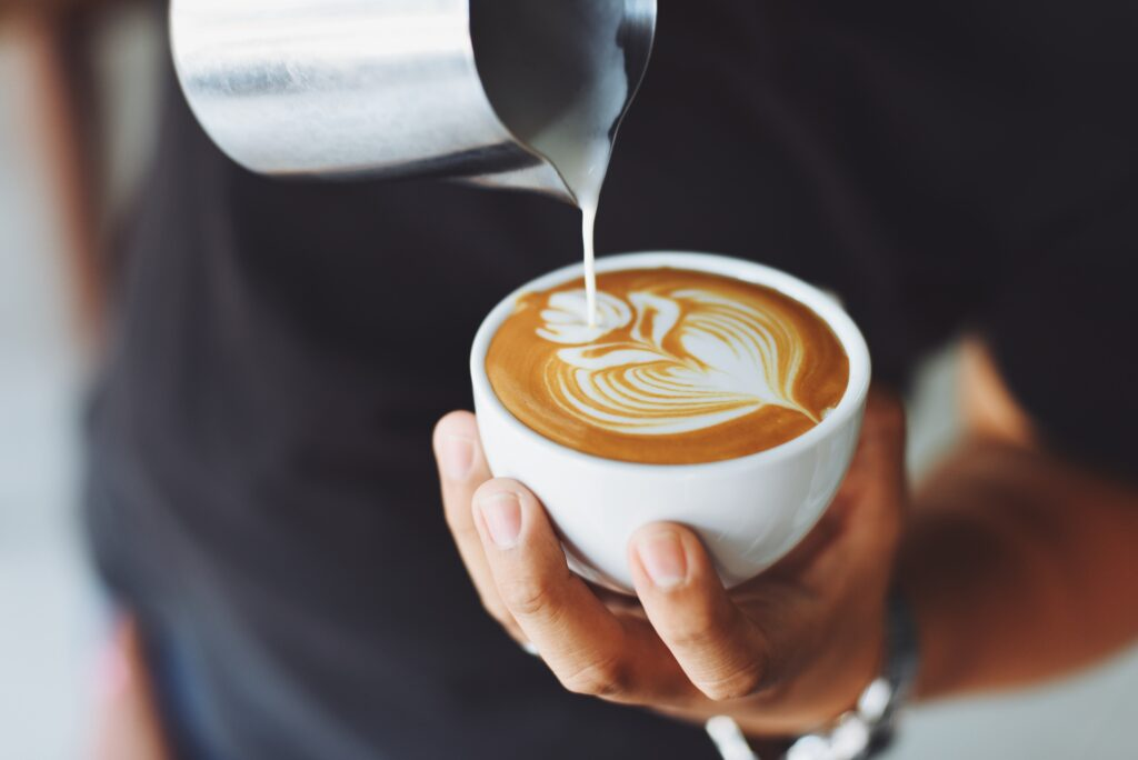 Wzór na cappuccino